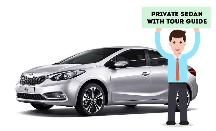 Private Sedan Driving Guide Tour(English)