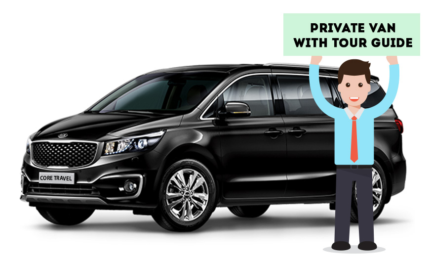 Private Van Driving Guide Tour(Group Price)