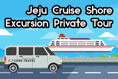 Jeju Cruise Shore Excursion Private Tour(Group Price)