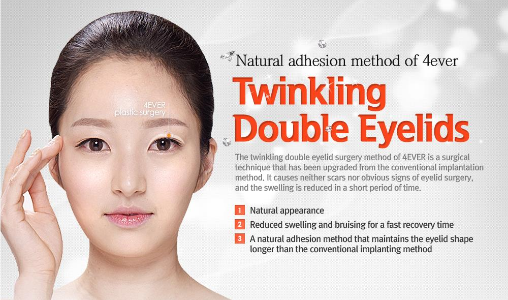 Twinkling Double Eyelids Surgery in Jeju Island