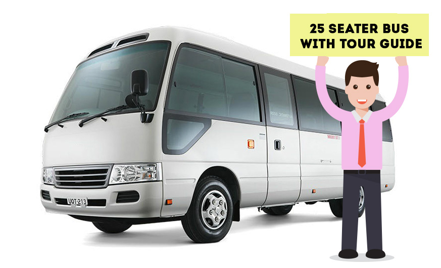 Private Mini Bus Tour with Guide(Group Price)