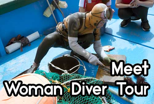 Meet Woman Diver Tour(Group Price)