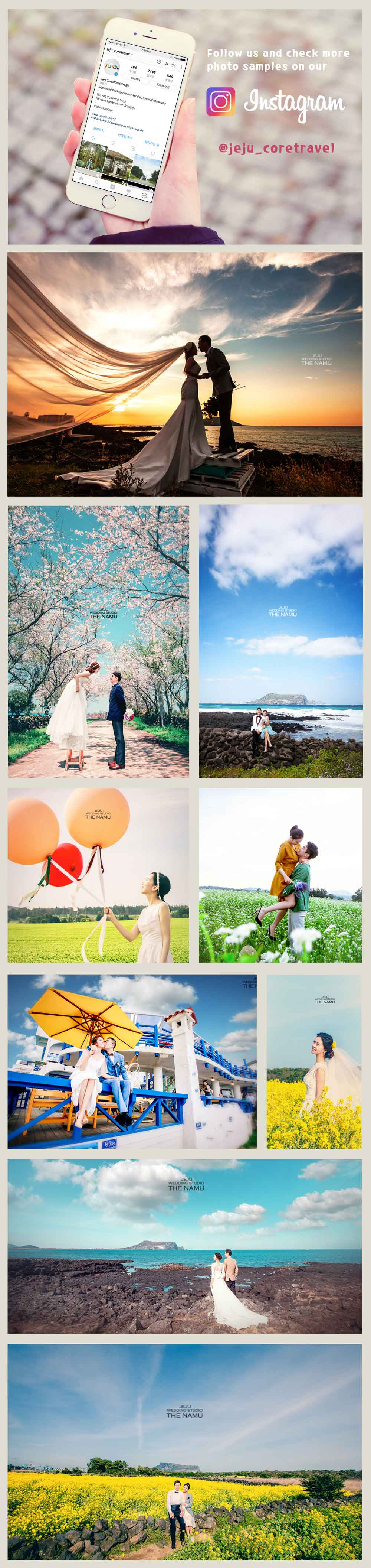 Jeju premium wedding-core travel